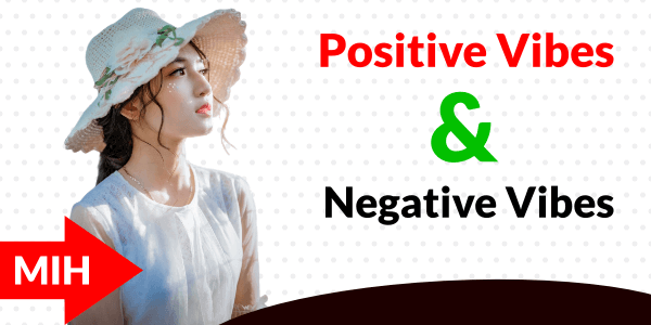 positive vives and negative vives meaning in hindi